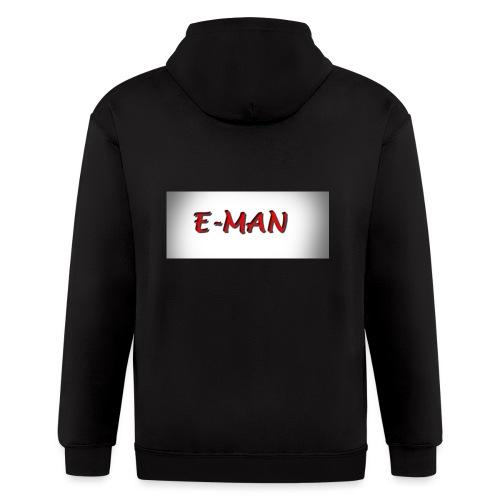 E-MAN - Men's Zip Hoodie