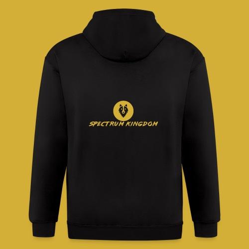 Spectrum Kingdom Gold Logo - Men's Zip Hoodie