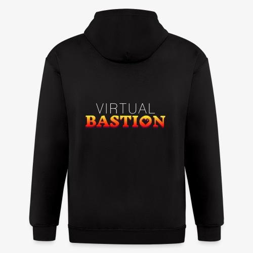 Virtual Bastion - Men's Zip Hoodie