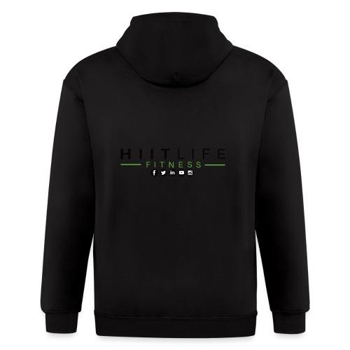 HLFLogosocial - Men's Zip Hoodie