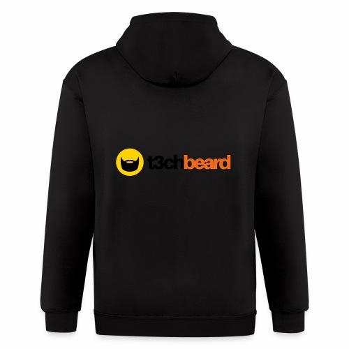 t3chBeard - Men's Zip Hoodie