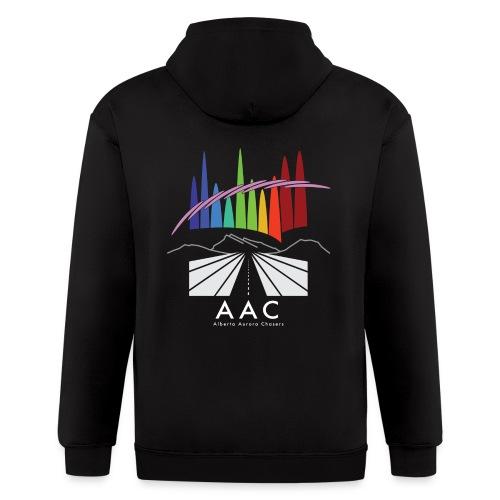 Alberta Aurora Chasers - Men's T-Shirt - Men's Zip Hoodie