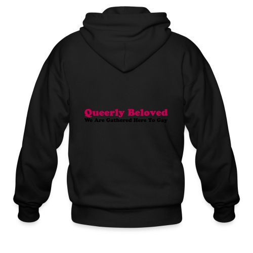 Queerly Beloved - Mug - Men's Zip Hoodie