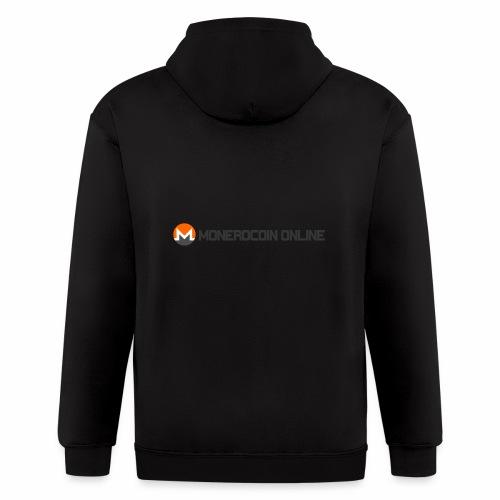 monerocoin online dar - Men's Zip Hoodie