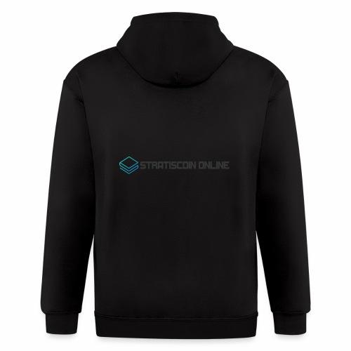 stratiscoin online dark - Men's Zip Hoodie