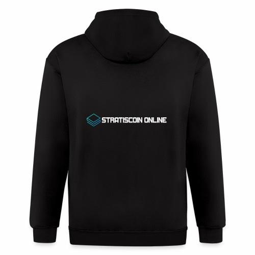 stratiscoin online light - Men's Zip Hoodie