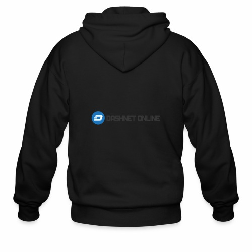 dashnet online dark - Men's Zip Hoodie