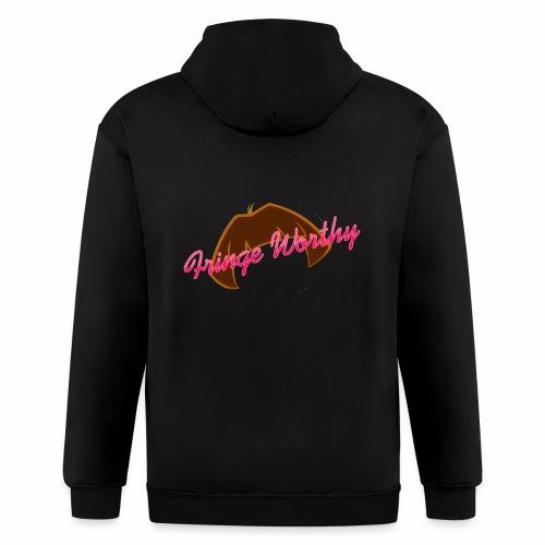 Fringe Worthy - Men's Zip Hoodie