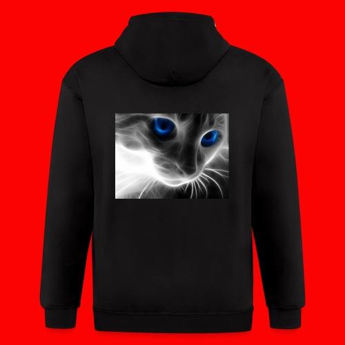 sly cat - Men's Zip Hoodie