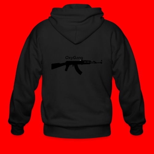 OxyGang: AK-47 Products - Men's Zip Hoodie