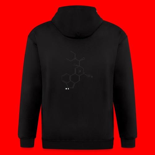 OxyGang: LSD Molecule Products - Men's Zip Hoodie