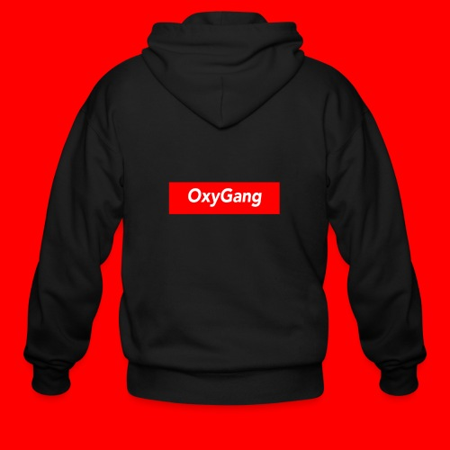 OxyGang: Red Box Products - Men's Zip Hoodie