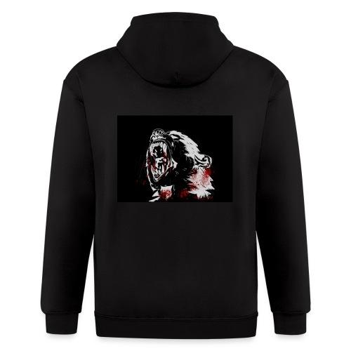 Blood Bear - Men's Zip Hoodie