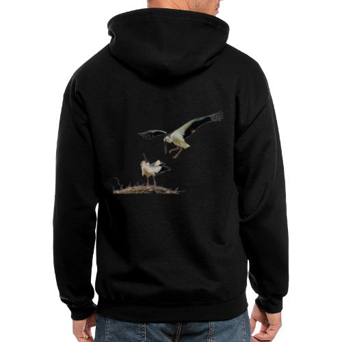 Stork - Men's Zip Hoodie