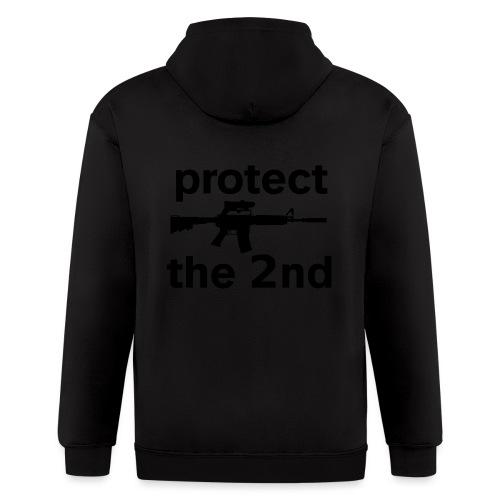PROTECT THE 2ND - Men's Zip Hoodie