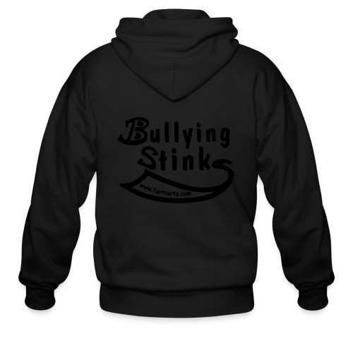 Bullying Stinks! - Men's Zip Hoodie