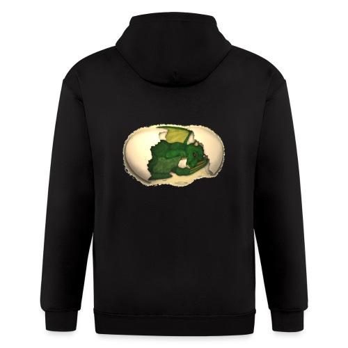 The Emerald Dragon of Nital - Men's Zip Hoodie