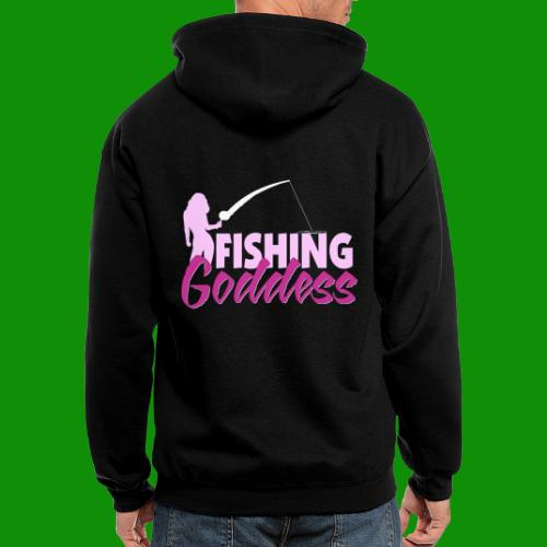 FISHING GODDESS - Men's Zip Hoodie