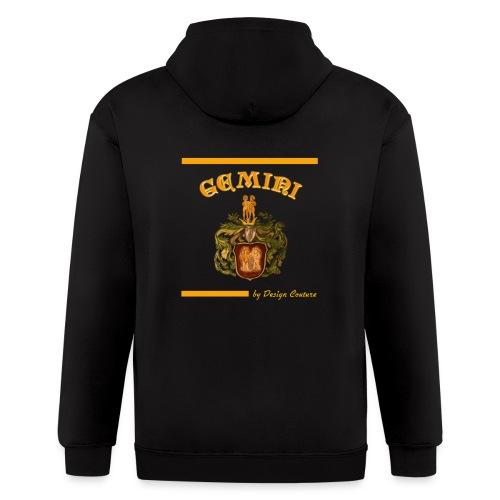 GEMINI ORANGE - Men's Zip Hoodie