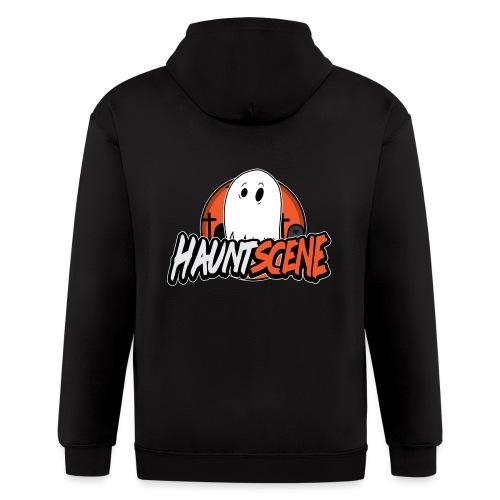 HauntScene Modern Logo 2020 - Men's Zip Hoodie