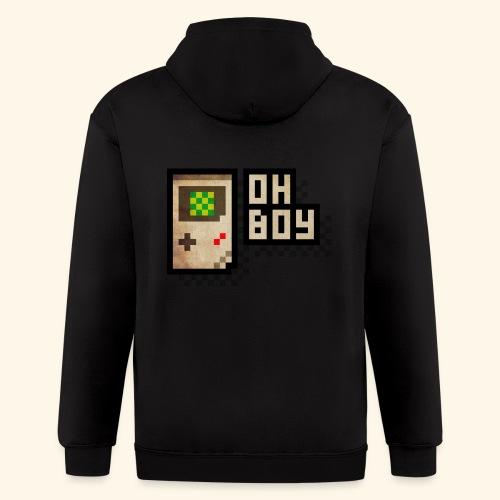 Oh Boy - Men's Zip Hoodie