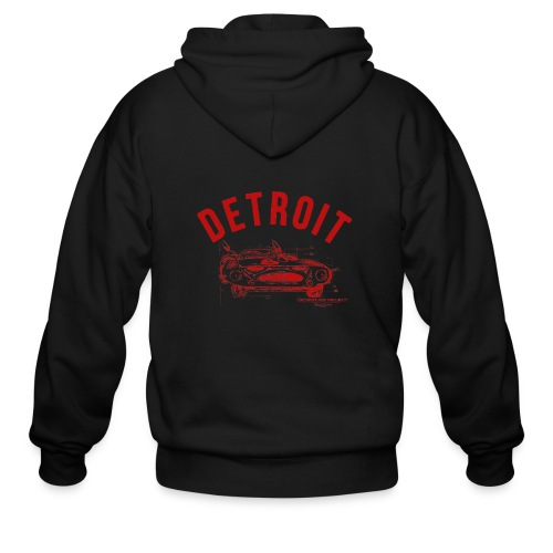 Detroit Art Project - Men's Zip Hoodie