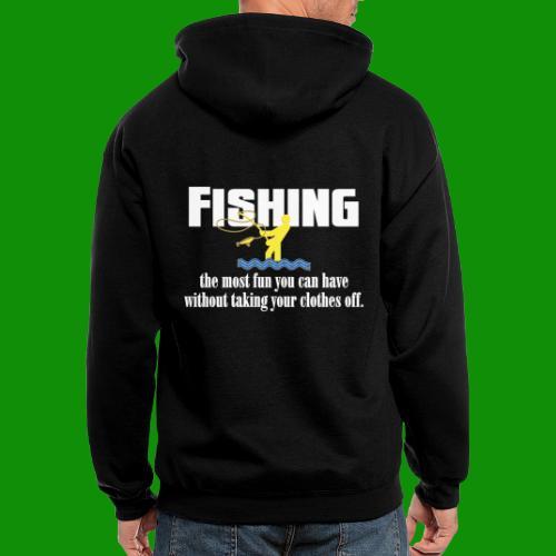 Fishing Fun - Men's Zip Hoodie