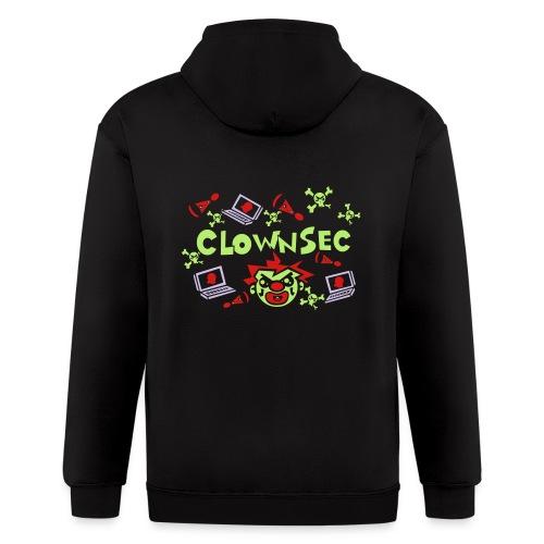 The Clown Hacker - Men's Zip Hoodie