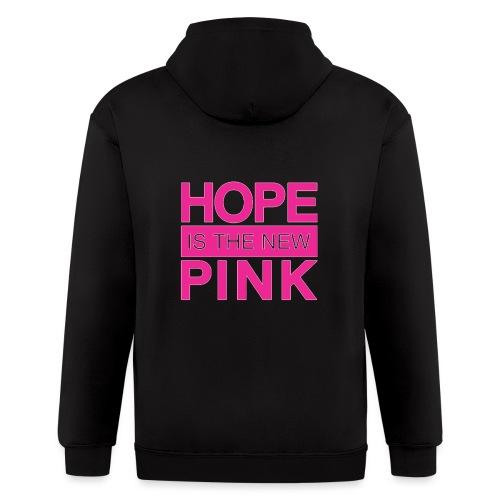 hope is the new pink - Men's Zip Hoodie