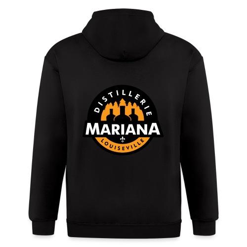 Distillerie Mariana T-Shirt Homme - Men's Zip Hoodie