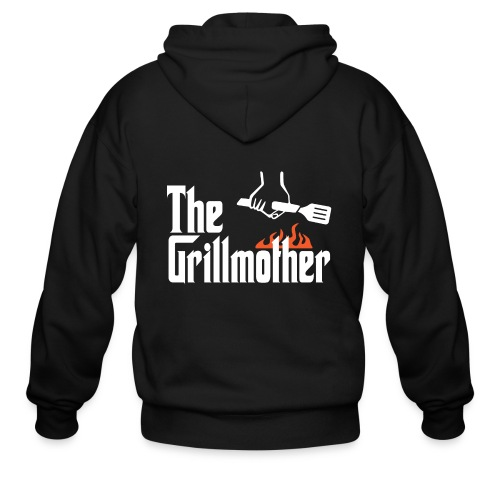 The Grillmother - Men's Zip Hoodie