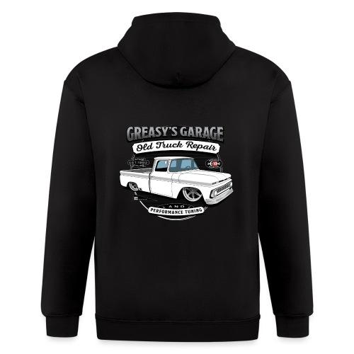 Greasy's Garage Old Truck Repair - Men's Zip Hoodie