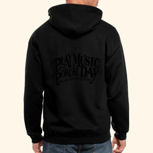shirt4 FINAL - Men's Zip Hoodie