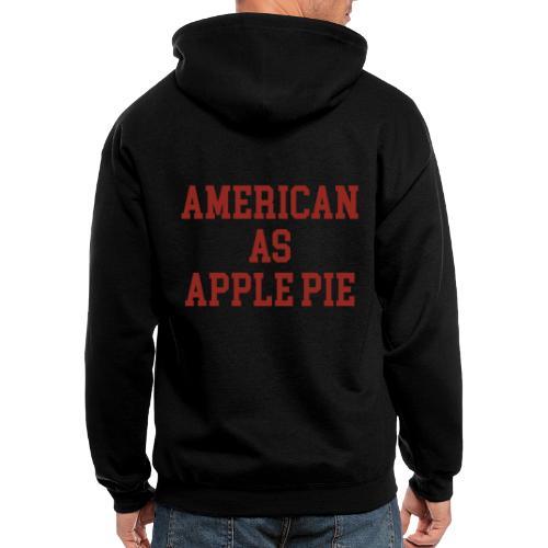 American as Apple Pie - Men's Zip Hoodie