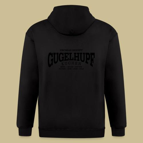 Gugelhupf (black) - Men's Zip Hoodie