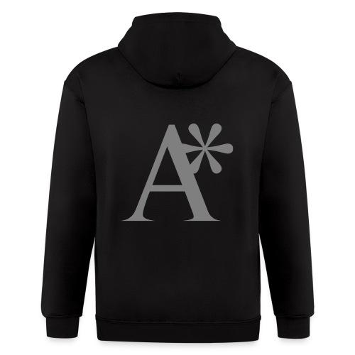 A* logo - Men's Zip Hoodie