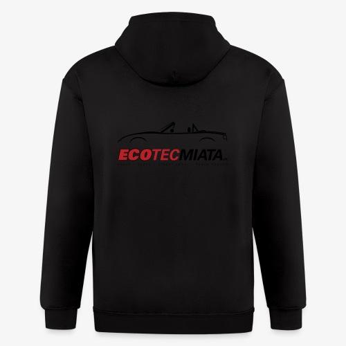 Ecotec Miata Logo - Men's Zip Hoodie