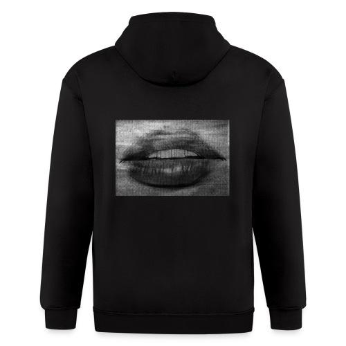 Blurry Lips - Men's Zip Hoodie