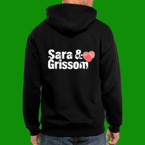 SARA & GRISSOM - Men's Zip Hoodie