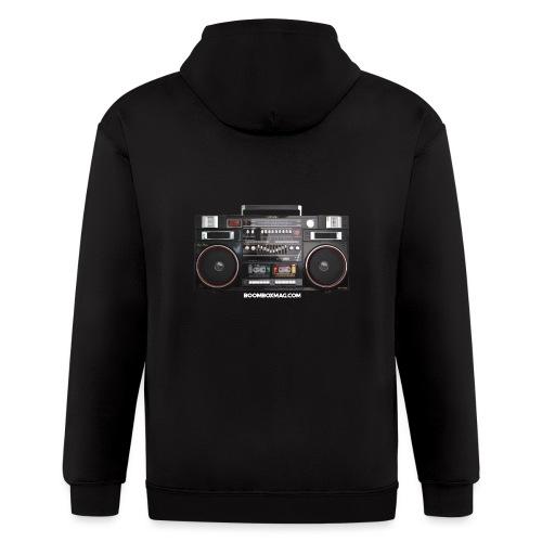 Helix HX 4700 Boombox Magazine T-Shirt - Men's Zip Hoodie