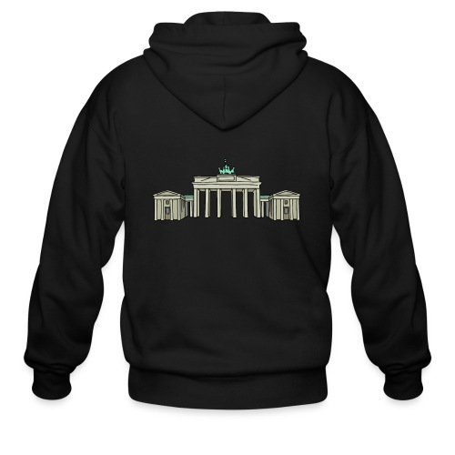 Brandenburg Gate Berlin - Men's Zip Hoodie