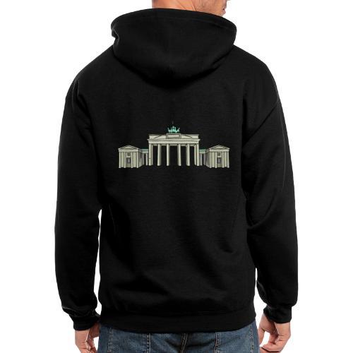 Brandenburg Gate Berlin - Men's Zip Hoodie
