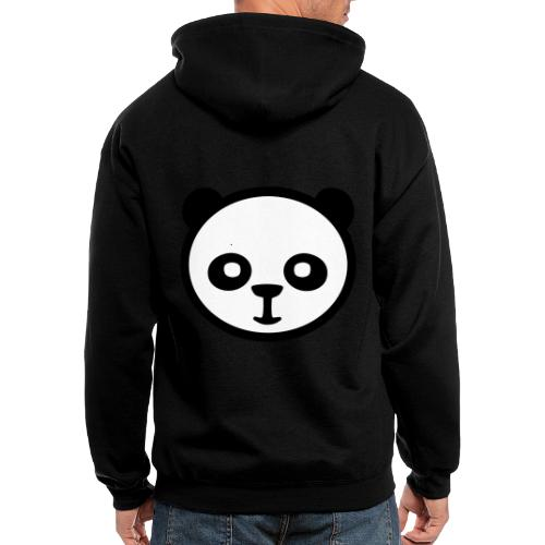 Panda bear, Big panda, Giant panda, Bamboo bear - Men's Zip Hoodie