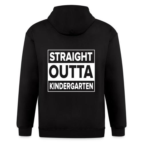 Straight Outta Kindergarten - Men's Zip Hoodie