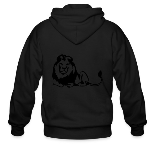 lions - Men's Zip Hoodie