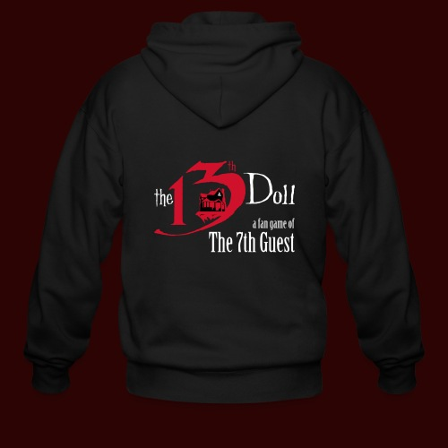 The 13th Doll Logo - Men's Zip Hoodie