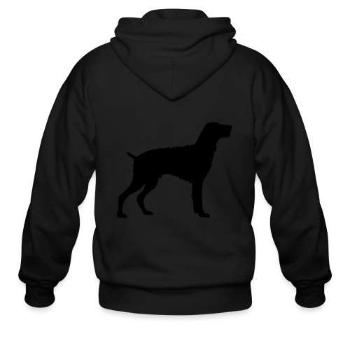 German Wirehaired Pointer - Men's Zip Hoodie