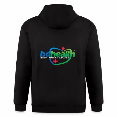 Health care / Medical Care/ Health Art - Men's Zip Hoodie