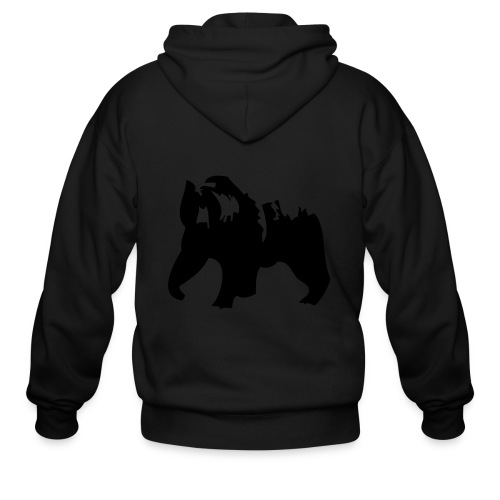 Grizzly bear - Men's Zip Hoodie