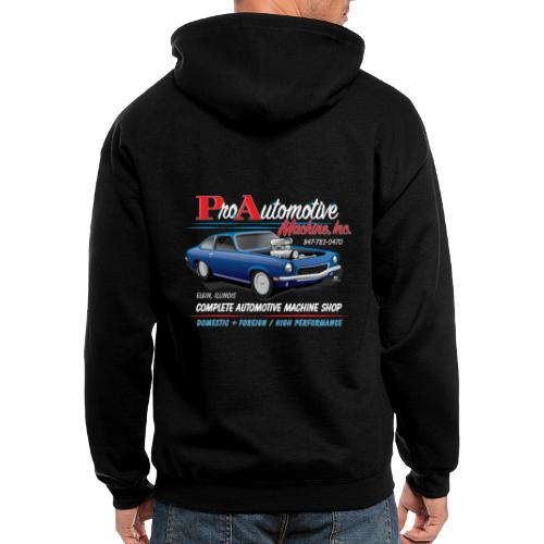 ProAutoTeeDesign062317fin - Men's Zip Hoodie